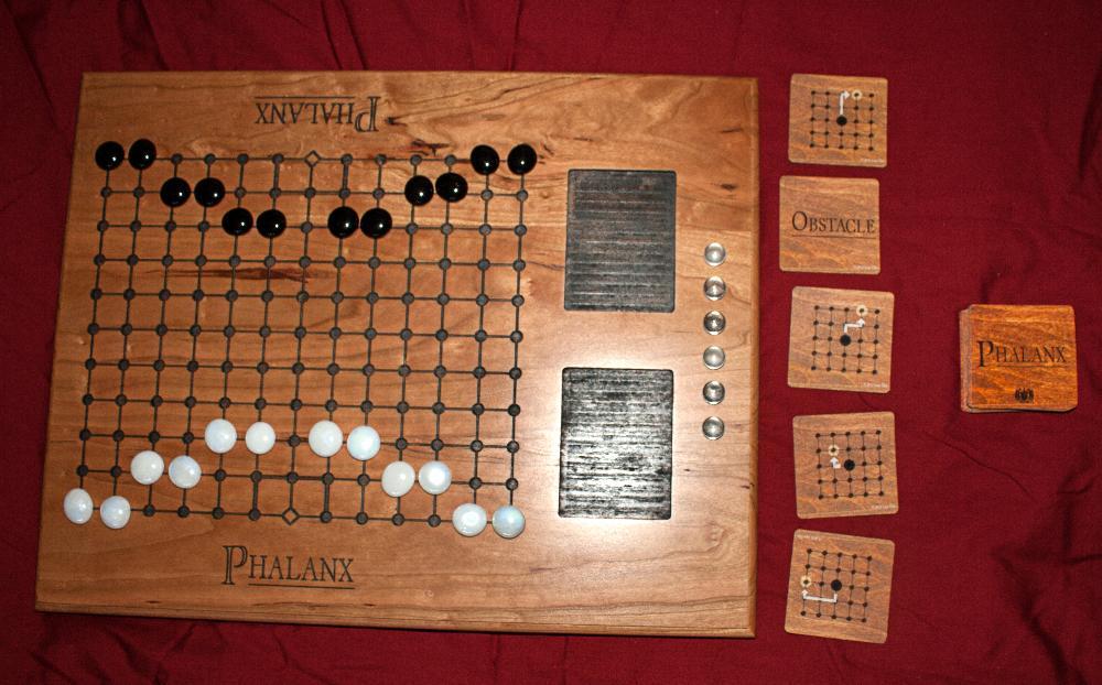 Phalanx - Cherry Wood Board Edition