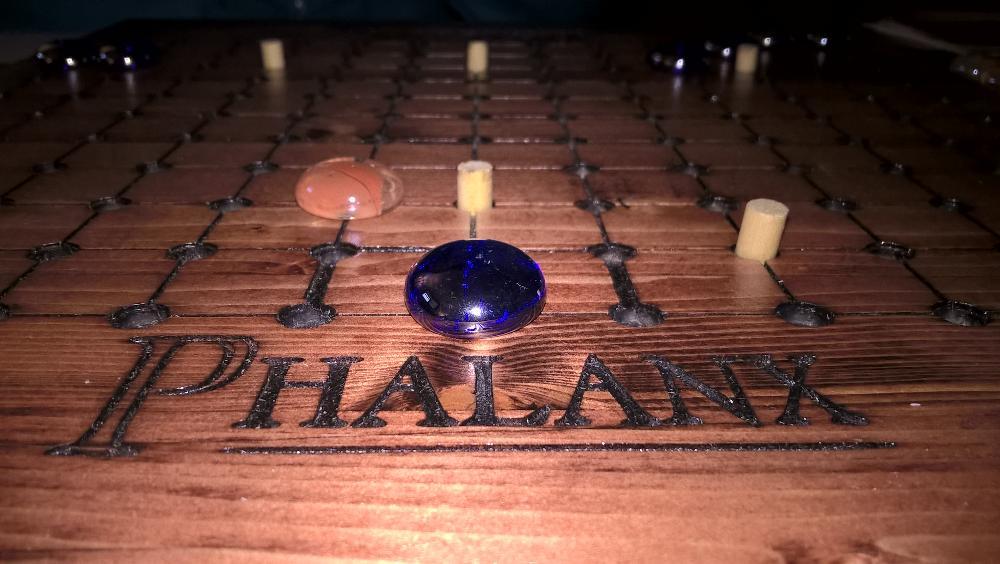 Phalanx Wooden Board Promo Image